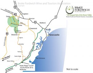 Broke Fordwich Map, Hunter Valley
