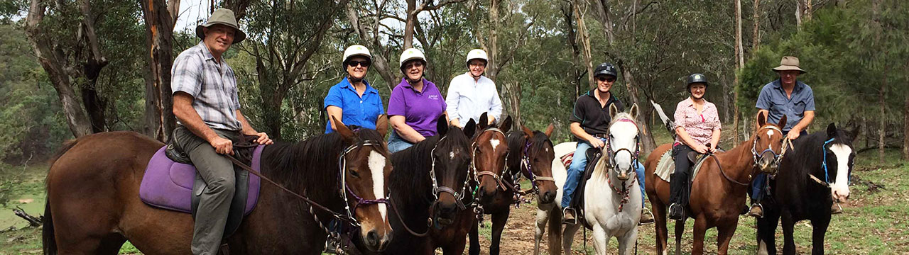 Chapman Valley Horse Riding, Hunter Valley