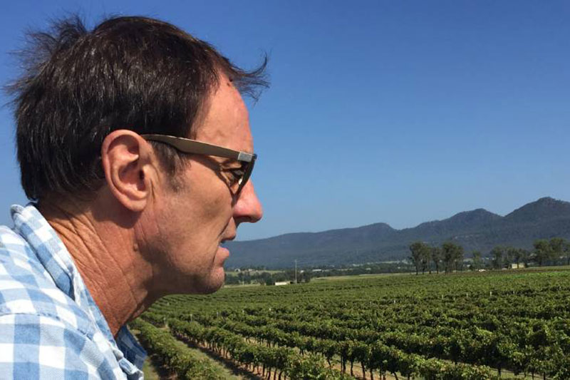 Andrew Margan, Margan Wines, Broke Fordwich, Hunter Valley