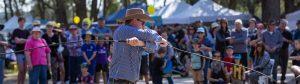Broke Village Fair, Whip Cracking