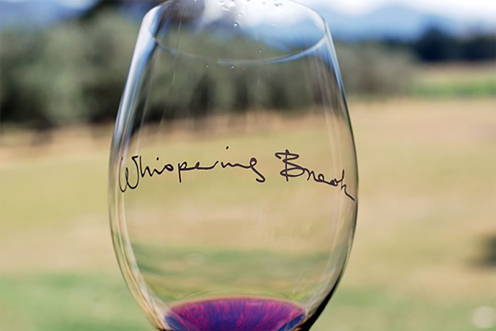 Whispering Brook Wine Flights