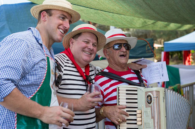 Hunter Valley Italian Festival, Italy in Broke