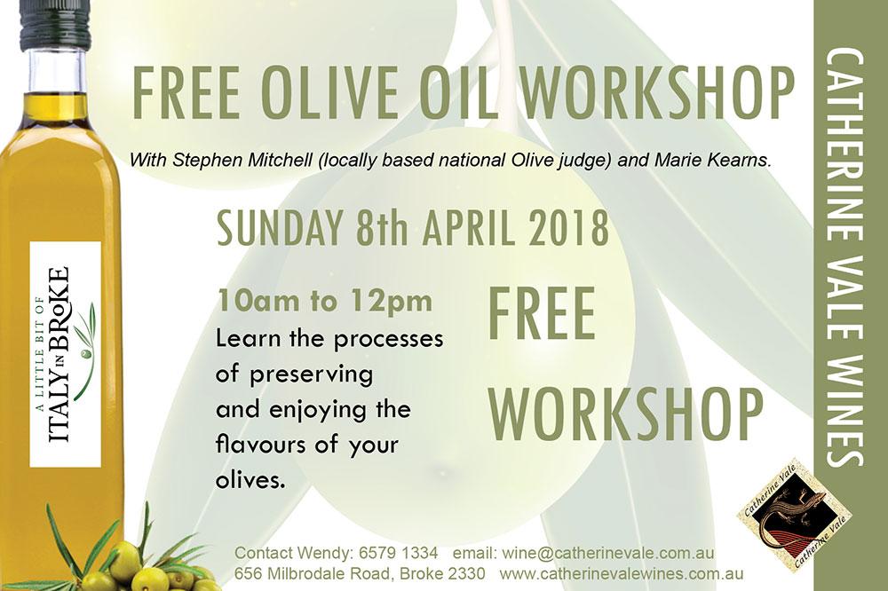 Olive Oil Workshop