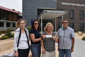 Singleton Cancer Appeal Committee thrilled with donation from BFWTA